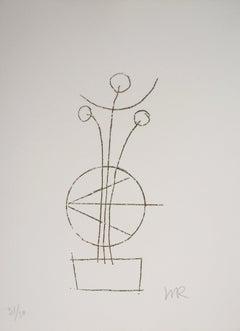 Dream Flowers, Irène, 1969 - Original Handsigned Etching