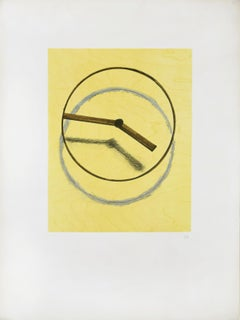 Les Heures Heureuses - Original Lithograph by Man Ray - 1970s
