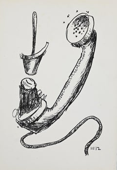 Life - Original Lithograph by Man Ray - 1964