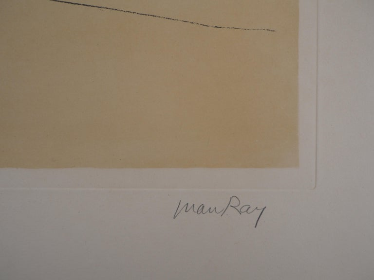 My First Love - Original handsigned lithograph, Limited to 100 copies - Print by Man Ray
