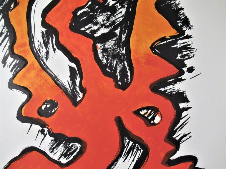 Mythologia Moderna II - Beige Abstract Print by Man Ray
