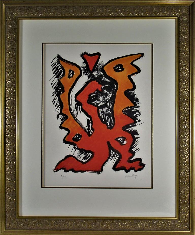 Man Ray Abstract Print - Mythologia Moderna II