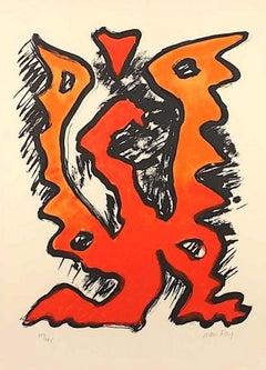 Mythologie Moderne II - Original Lithograph by Man Ray - 1969