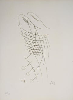 Oneiric Couple, Lydie, 1969 - Original Handsigned Etching