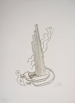 Surrealist Machine, Fausta, 1969 - Original Handsigned Etching
