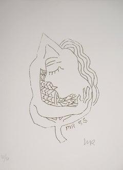 The Dream, Oneiric Figure - Original Handsigned Etching (Anselmino #75)