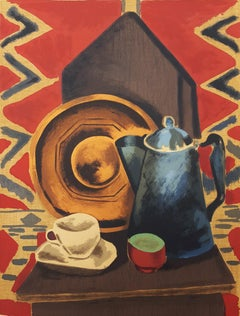 Untitled (Still Life with Coffee Pot, Cup and Saucer)