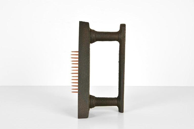 MAN RAY - Cadeau, Limited edition Sculpture - Dada, Surrealist - Gray Still-Life Sculpture by Man Ray