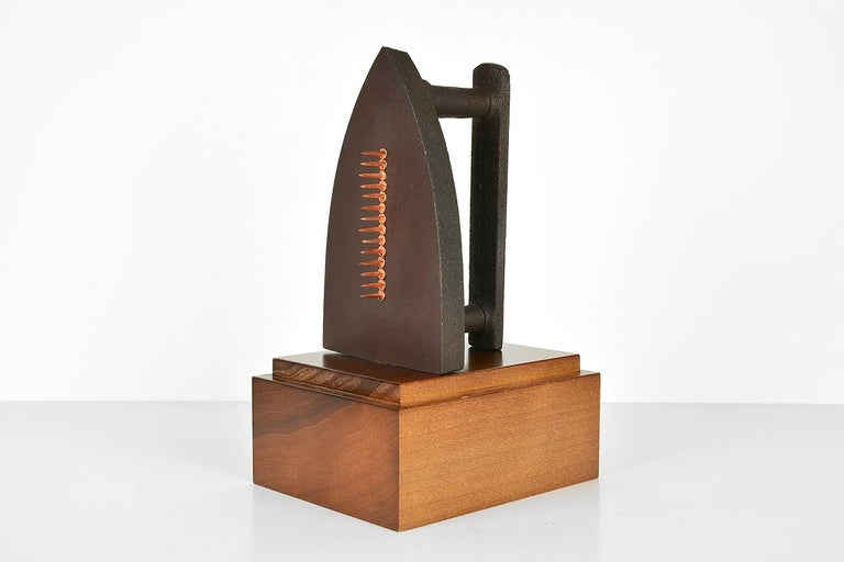 MAN RAY - Cadeau, Limited edition Sculpture - Dada, Surrealist For Sale 1