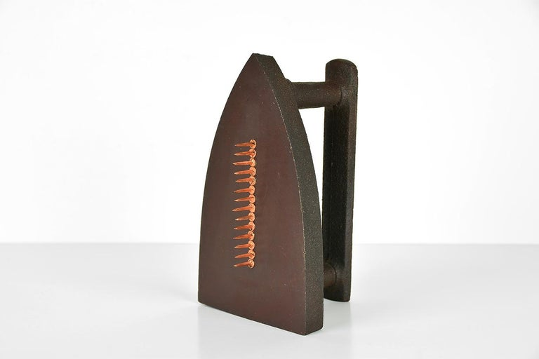 Man Ray Still-Life Sculpture - MAN RAY - Cadeau, Limited edition Sculpture - Dada, Surrealist