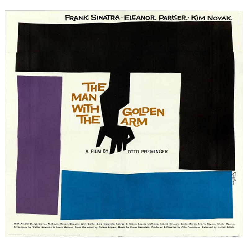 Man With The Golden Arm, The (1955) Poster