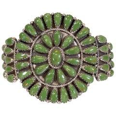 Manassa Turquoise Petit Point Bracelet