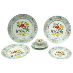 Mandalay Chas Field Haviland Limoges Dinnerware, Set of 12 Place Settings