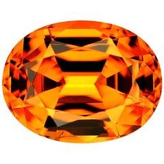 Mandarine Garnet Oval