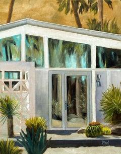 Desert Reflections, Oil Painting