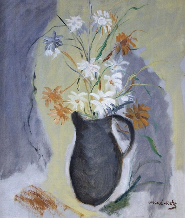 Mane Katz Still-Life Painting - Flowers