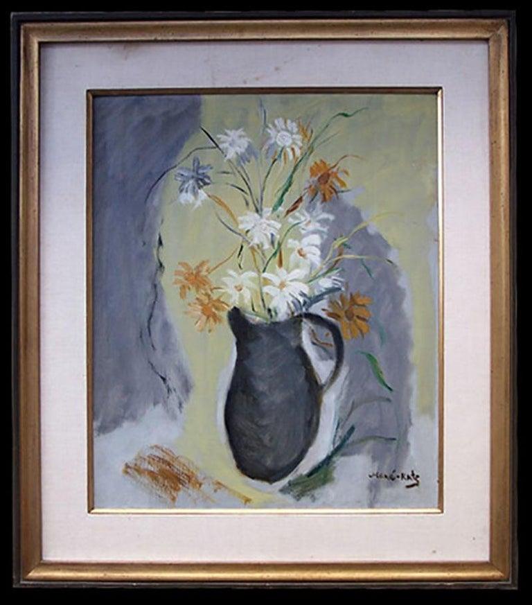 Flowers - Painting by Mane Katz