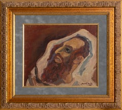 Rabbi, Oil Painting by Mane-Katz