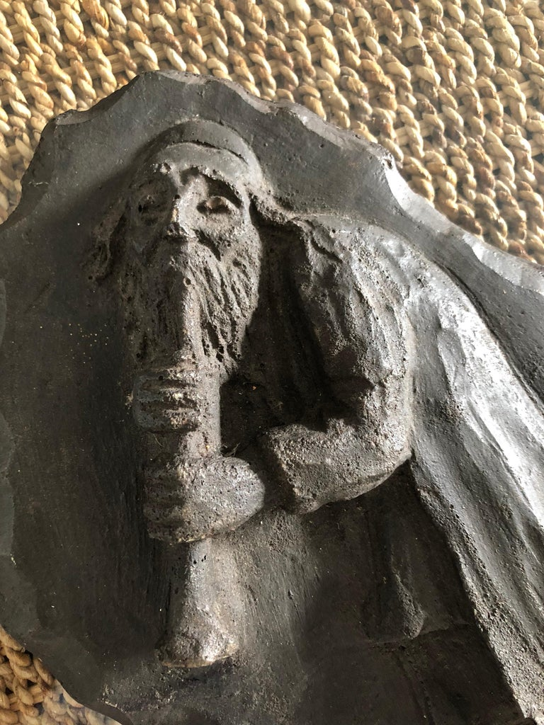 French Painted Maquette for Sculpture Judaica Klezmer Musician  For Sale 2