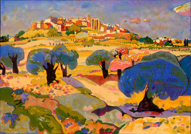 Horta De Saint Joan Spain by Manel Anoro 1995 Warm Summer For Sale 1