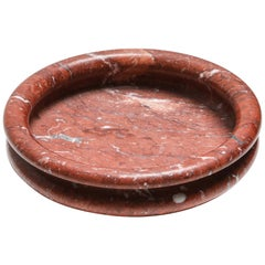 Mangiarotti Red Marble Bowl