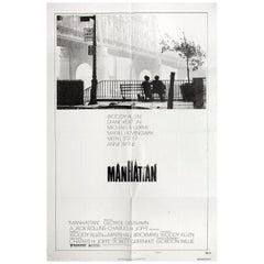 Manhattan 1979 U.S. One Sheet Film Poster