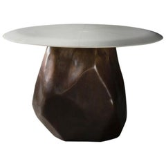 Manhattan Center Table in Bronze by Elan Atelier