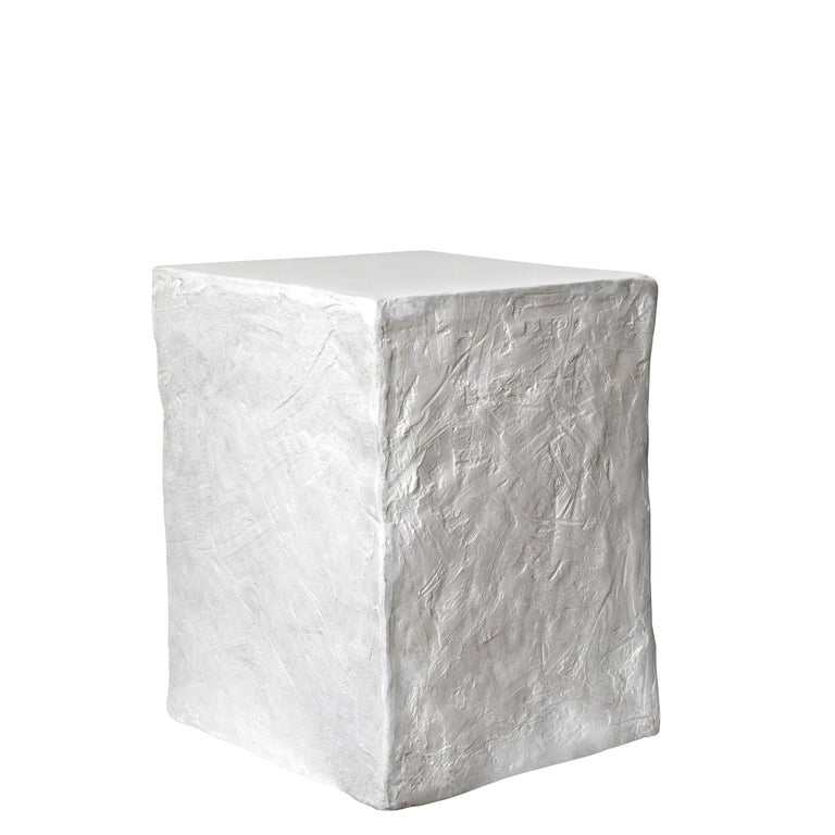English Manhattan Cube Side Table/ Stool, 21st Century by Margit Wittig For Sale