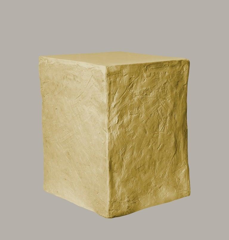 Modern Manhattan Cube Side Table/ Stool, 21st Century by Margit Wittig For Sale