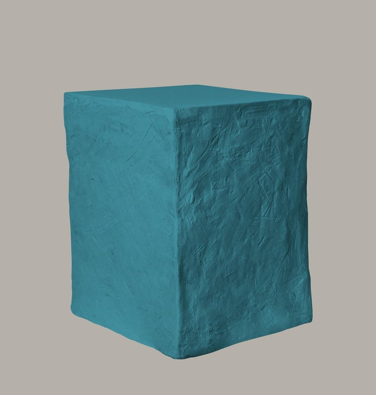 Manhattan Cube Side Table/ Stool, 21st Century by Margit Wittig In New Condition For Sale In  London, GB