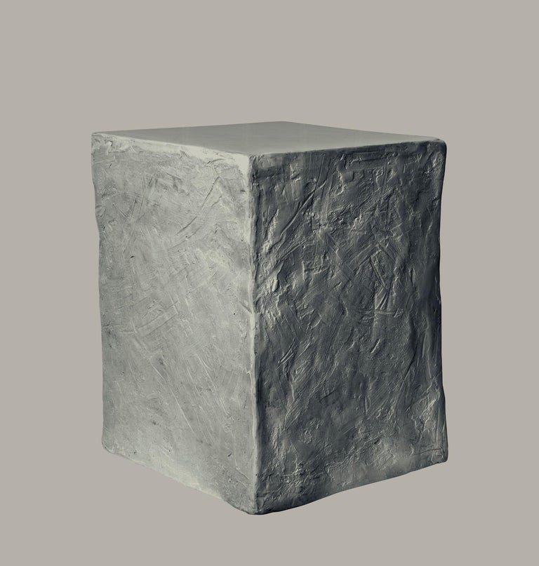Contemporary Manhattan Cube Side Table/ Stool, 21st Century by Margit Wittig For Sale