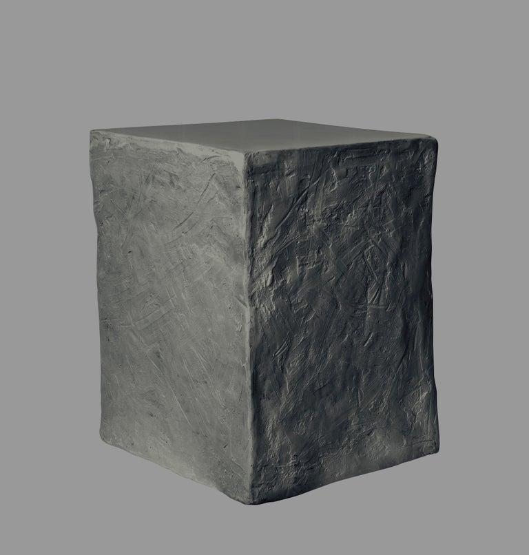 Epoxy Resin Manhattan Cube Side Table/ Stool, 21st Century by Margit Wittig For Sale