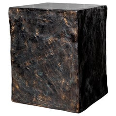 Custom Order for David, Manhattan Cube Side Table/ Stool, by Margit Wittig
