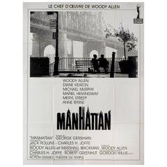 Manhattan R1990s French Grande Film Poster