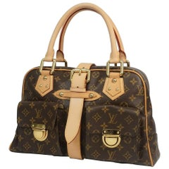 Louis Vuitton Manhattan GM  Womens  Boston bag M40025  brown