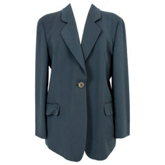 Mani by Armani Green Wool Classic Jacket