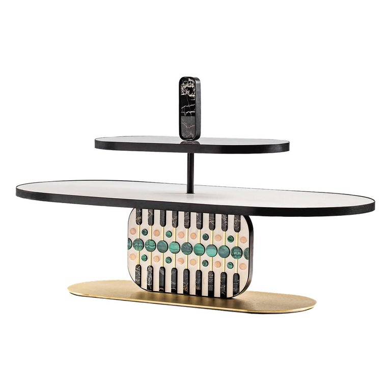 Maniace Coffee Table by Elena Salmistraro For Sale