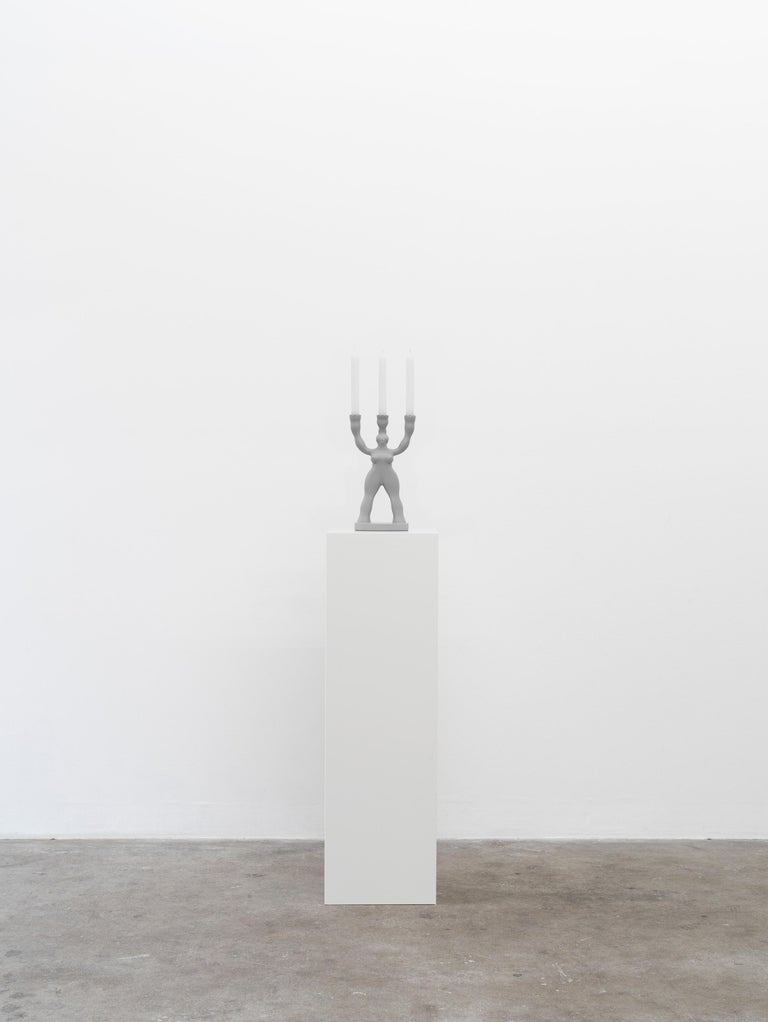 Modern Manikhin 3-Arm Candlestick by Roma Manikhin for Normann X Brask Art Collection For Sale