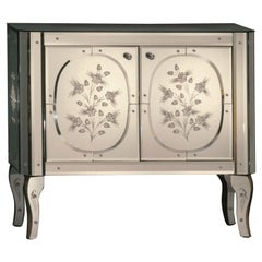 """""""Manin"""" Cabinet in Murano Glass Mirror, Handcrafted by Fratelli Tosi"""