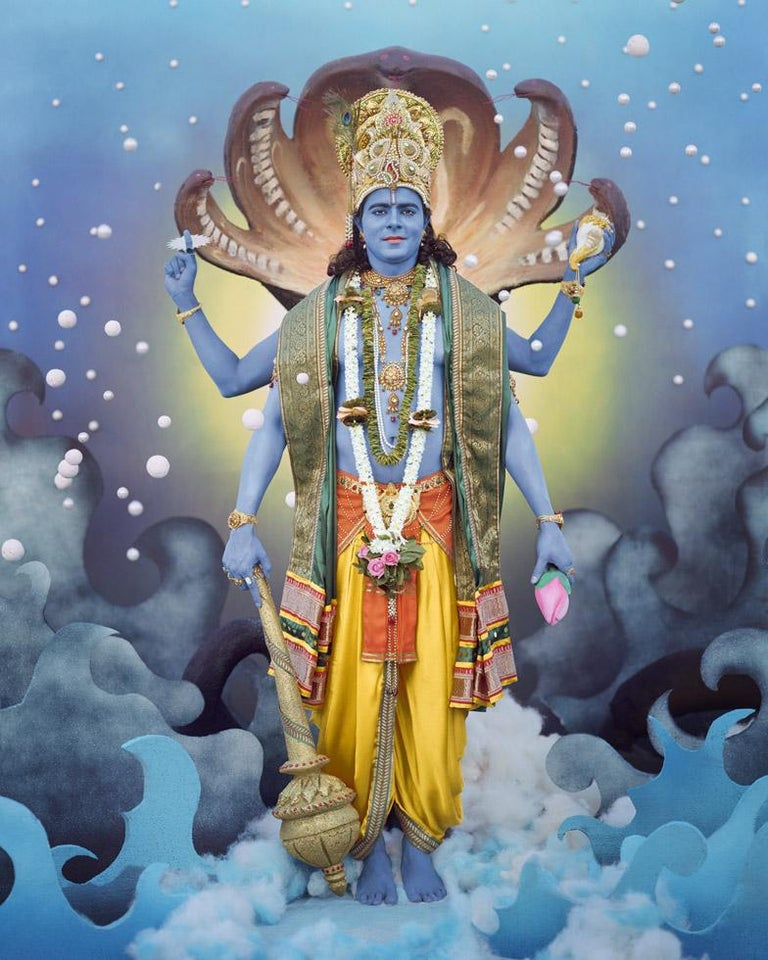 Manjari Sharma Lord Vishnu Photograph For Sale At 1stdibs