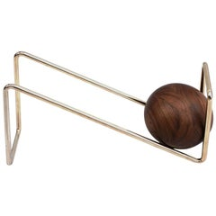 Manks, Card holder Walnut and Steel