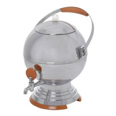 Manning Bowman Art Deco Aluminum Coffee Percolator