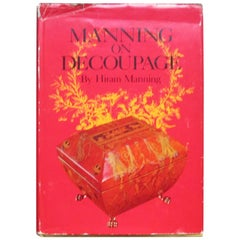Manning on Decoupage Hardcover Decoration Book