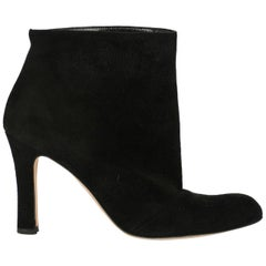 Manolo Blahnik Woman Ankle boots Black IT 37