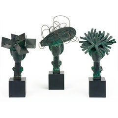 Three Sculptures by Manolo Valdés, 2007, Patinated bronze, Edition of 150