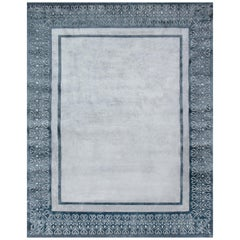 Hand Knotted - silk rug - Mansart Turquin, Edition Bougainville