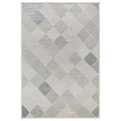 Mansour Modern Swedish Inspired Handwoven Wool Rug