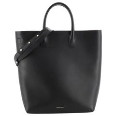Mansur Gavriel Bucket Tote Leather North South