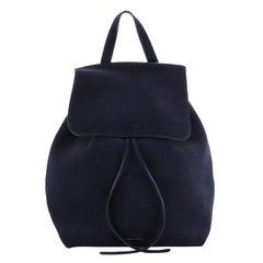 Mansur Gavriel Drawstring Backpack Suede Mini