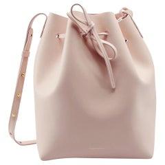 Mansur Gavriel Pick Leather Bucket Bag
